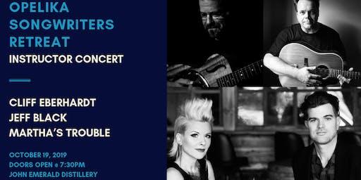 Opelika Songwriters Retreat Instructor Concert