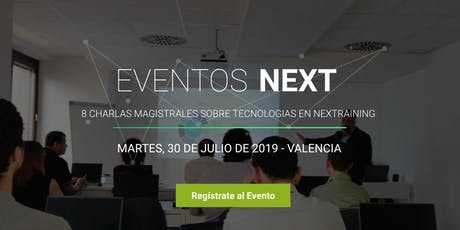 Eventos  Next / Data Science, Seguridad, Cloud, Innovación... entradas