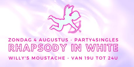 Party4singles | Rhapsody in WHITE | Willy's Moustache  tickets
