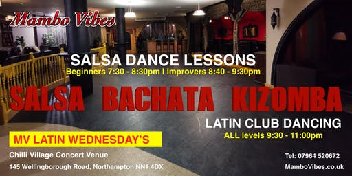 FIVE SALSA DANCE GROUP LESSONS DEAL