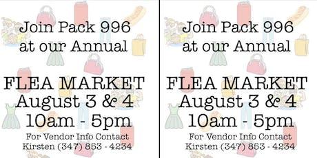 Summer 2019 Flea Market tickets