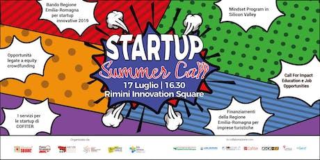 Startup Summer Call biglietti