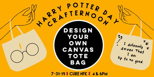 Cure NFK Harry Potter Day Crafternoon