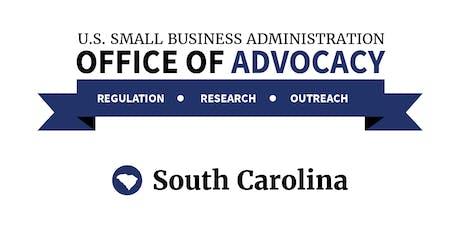 SBA Office of Advocacy - Regional Regulatory Roundtable - Charleston, SC tickets