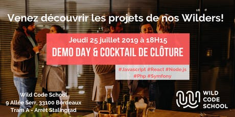 Demo Day & Cocktail de clôture billets