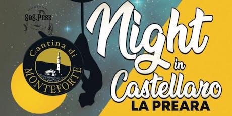NIGHT IN CASTELLARO biglietti