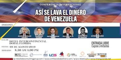 Así se lava el dinero de Venezuela