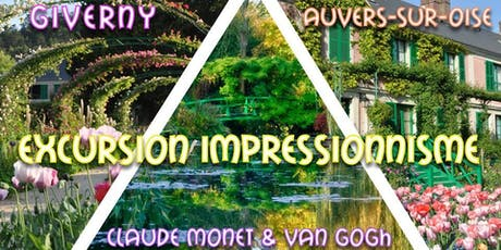 Giverny & Auvers : Excursion Impressionnisme | Monet & Van Gogh - 10/08 billets