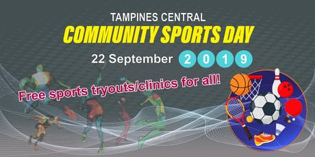 Tampines Central Community Sports Day tickets