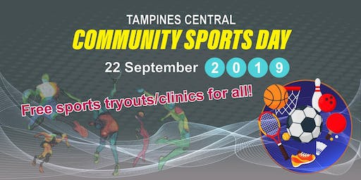 Tampines Central Community Sports Day