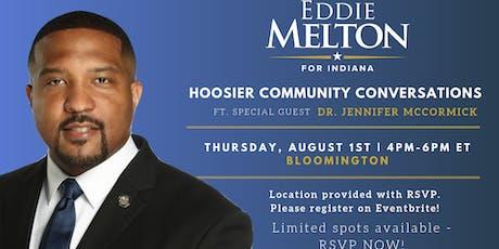 Bloomington Community Conversation w/ special guest Dr. Jennifer McCormick tickets