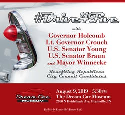 #Drive4Five tickets