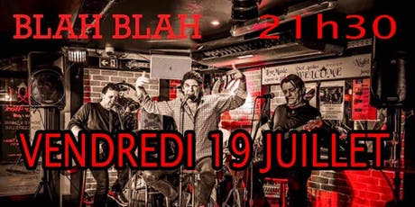 Soirée Rock Avec BLAH BLAH tickets