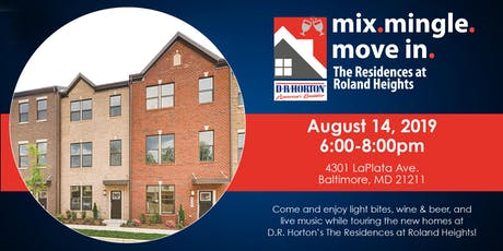 Mix. Mingle. Move-In. at The Residences at Roland Heights tickets