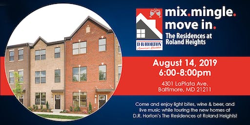 Mix. Mingle. Move-In. at The Residences at Roland Heights