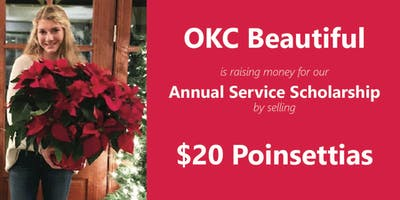 Poinsettia Sale! OKC Beautiful Service Scholarship Fundraiser