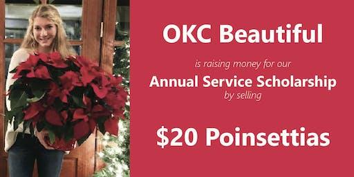 Poinsettia Sale! OKC Beautiful Service Scholarship Fundraiser