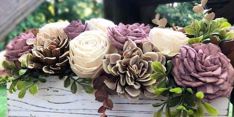 DIY Wood Flower Craft Night tickets