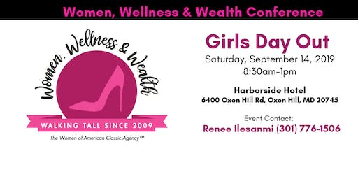 Girls Day Out Fall 2019 Women, Wellness & Wealth Conference