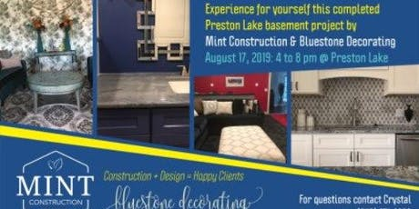 Reveal Party for Bluestone Decorating & Mint Construction tickets