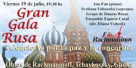 Festival Rachmaninov - Gran Gala Rusa entradas