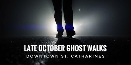 Late October 2019 Ghost Walks (multiple dates) tickets