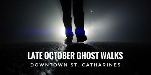 Late October 2019 Ghost Walks (multiple dates)