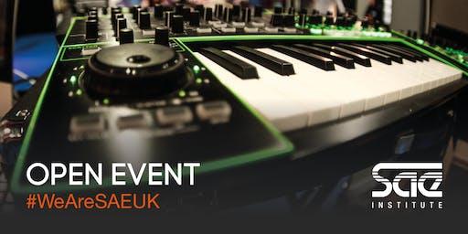 SAE Glasgow Open Event