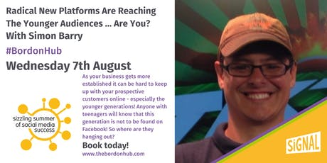Radical New Platforms Are Reaching The Younger Audiences … Are You? With Simon Barry. tickets