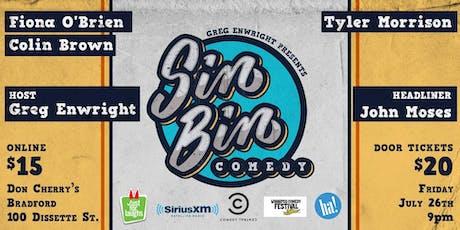 Sin Bin Comedy Show #43 tickets