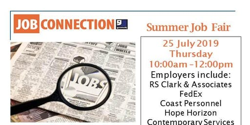 Goodwill Job Connection is hosting a Summer Job Fair