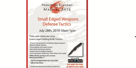 Edged Weapons Workshop tickets