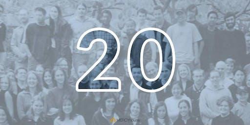 MERCYhouse 20th Anniversary