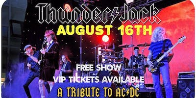 AC/DC Tribute show with ThunderJack at Main Street Station