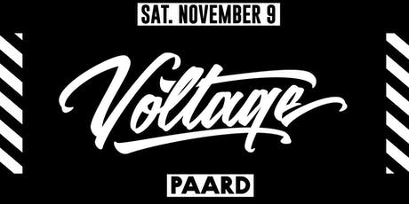 Voltage x PAARD tickets