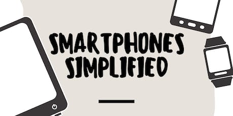 Smartphones Simplified: Technology Class for Seniors tickets