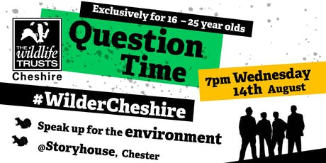 Wilder Cheshire Question Time tickets