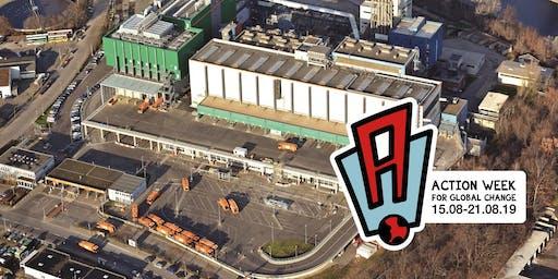 Besuch des Müllheizkraftwerk Berlin Ruhleben im Rahmen der Action Week