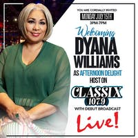 Classix 107.9 Live Broadcast with Dyana Williams