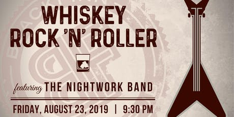 Whiskey Rock 'N' Roller @ Blackfinn! tickets