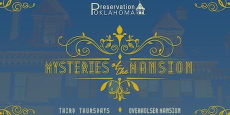 September Mysteries of the Mansion tickets