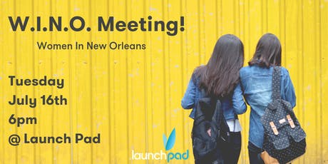 W.I.N.O. Meeting (Women In New Orleans) tickets