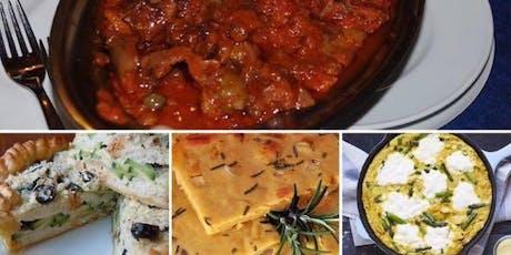 Evento degustación Julio: Sabores Auténticos de Sicilia entradas