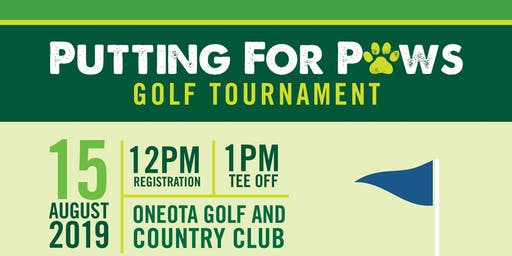 Putting for Paws 2019