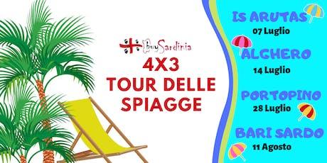 SPECIALE 4X3 TOUR DELLE SPIAGGE 2019 biglietti