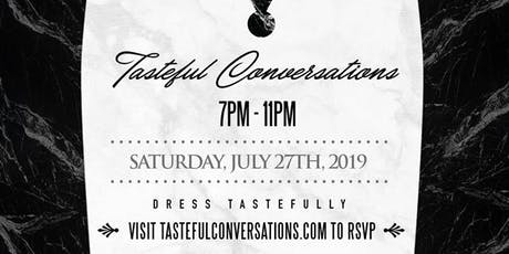 Tasteful Conversations 2019 - Mingle. Network. Drink. tickets