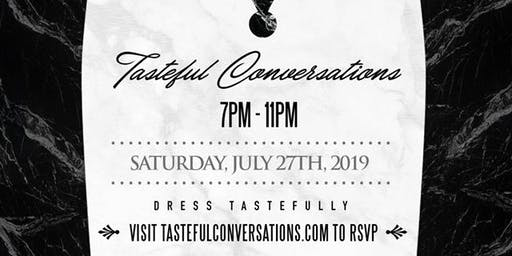 Tasteful Conversations 2019 - Mingle. Network. Drink.