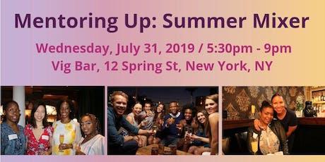 Mentoring Up: Summer Mixer tickets