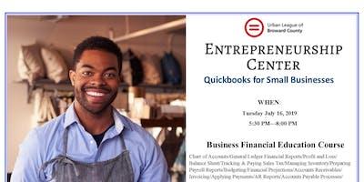 Quick-Books for Small Businesses - Urban League of Broward & City of Pompano Beach