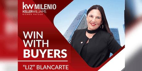 """Liz"" Blancarte - Win with buyers - KW Milenio entradas"